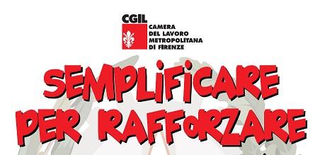 Firenze, 28 ottobre- Incontro della Cgil sulle riforme istituzionali