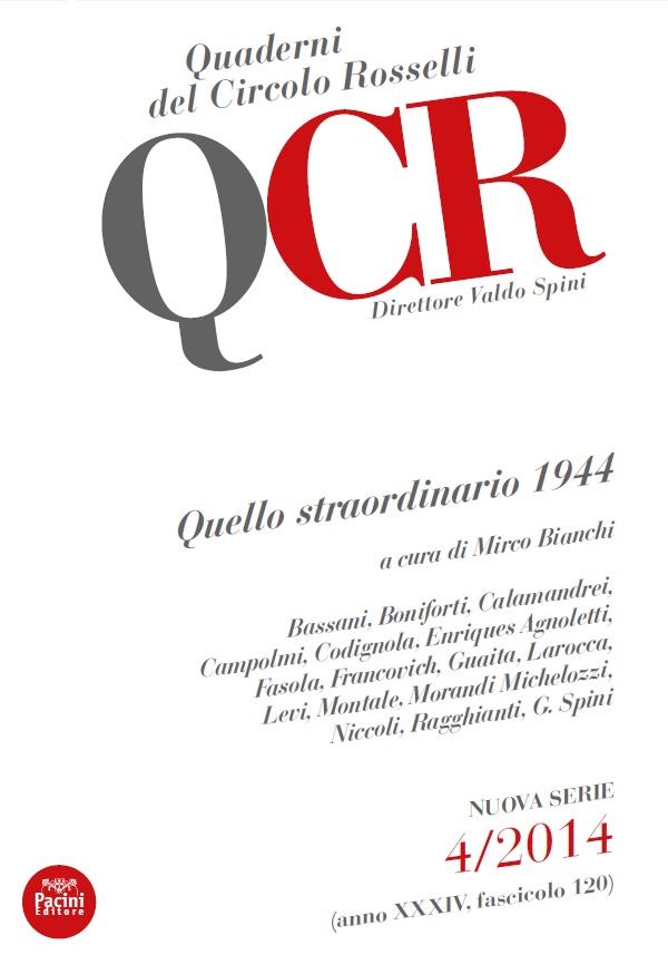 """Roma, 6 marzo - presentazione """"Quello straordinario 1944"""""""