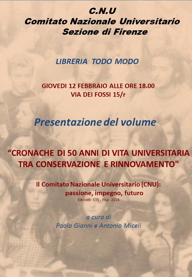 Firenze, 12 febbraio 2015 - presentazione alla libreria Todo Modo