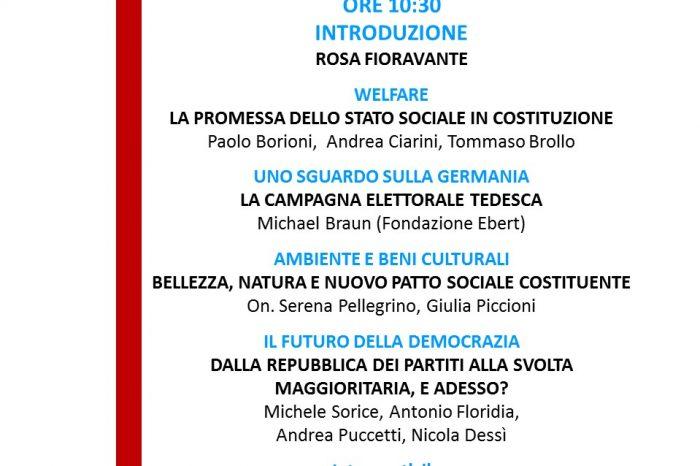 Roma, II incontro programmatico tra il Movimento di Azione Laburista e i PettiRossi