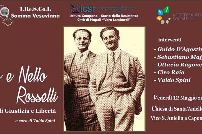 11-12 maggio: a Napoli per i Rosselli!