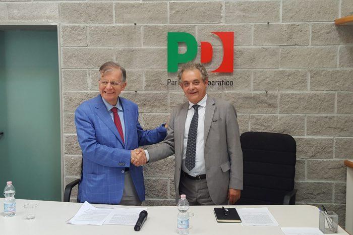 Seconda conferenza stampa dell'appello Andrea Barducci - Valdo Spini