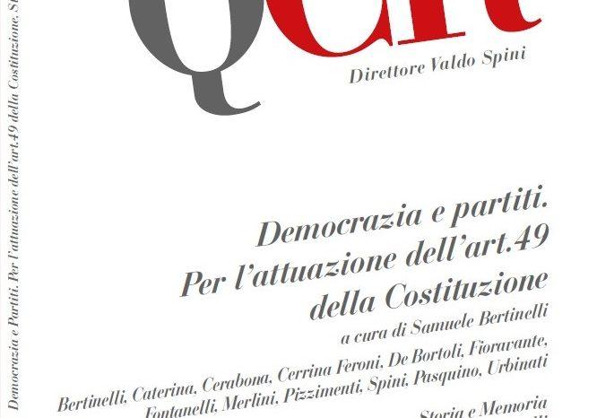 Presentazione del n.3/2018 dei Quaderni del Circolo Rosselli - Roma 26 Ottobre 2018