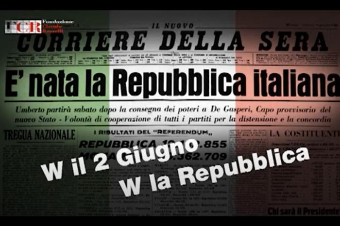 W il 2 giugno – W la Repubblica