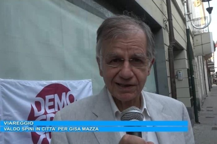 Video - 18 settembre 2020  - Elezioni. Spini in campo per Giani a Viareggio