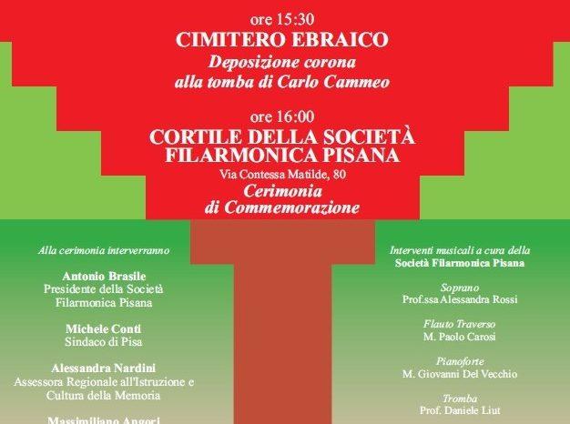 Martedì 13 aprile 2021  - Commemorazione nel Centenario dell'assassinio di Carlo Cammeo