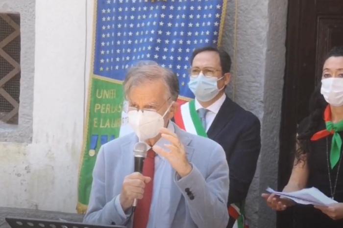 Valdo Spini, orazione ufficiale eccidio Forno